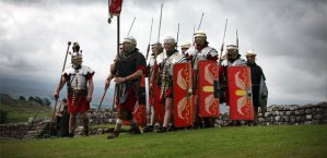 Soldiers at Housesteads